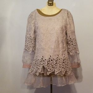 Tops - Lacy tunic top